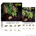 PT2660 2662 Habitat Kit Rainforest Set White