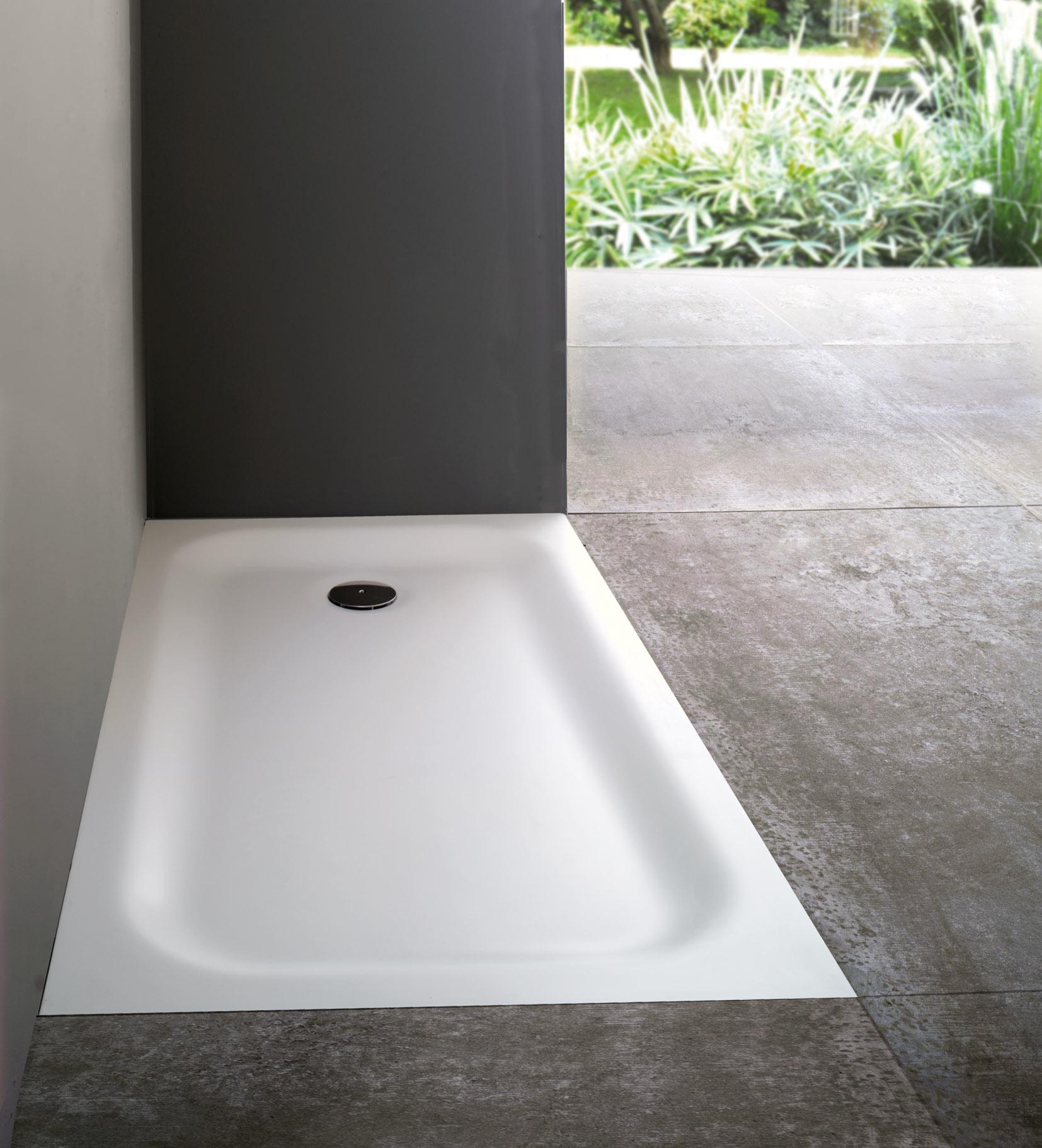 Piatti doccia joy piatto doccia joy incasso casa italia - Piatto doccia incassato nel pavimento ...