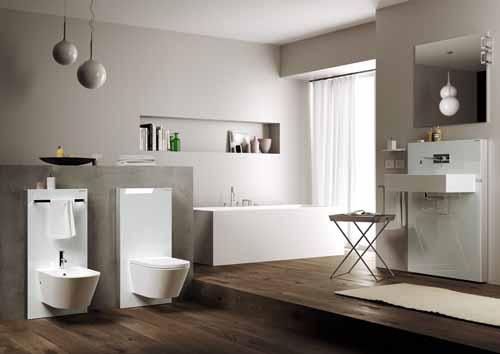Geberit al cersaie di bologna casa italia for Cassetta wc esterna sottile