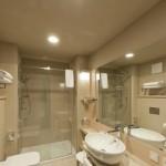 Hansgrohe per Aqualux hotel sala da bagno