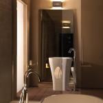 Kerasan - Vasca e lavabo freestanding Aquatech, design M. Cicconi (Ph.R.Costantini)
