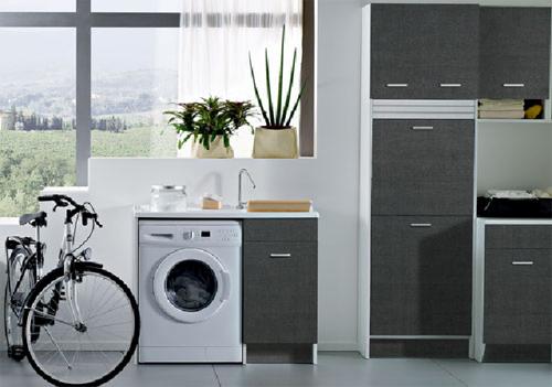 Tendenza grigio...anche in lavanderia!  Casa Italia