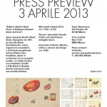 Press Preview 3 Aprile 2013
