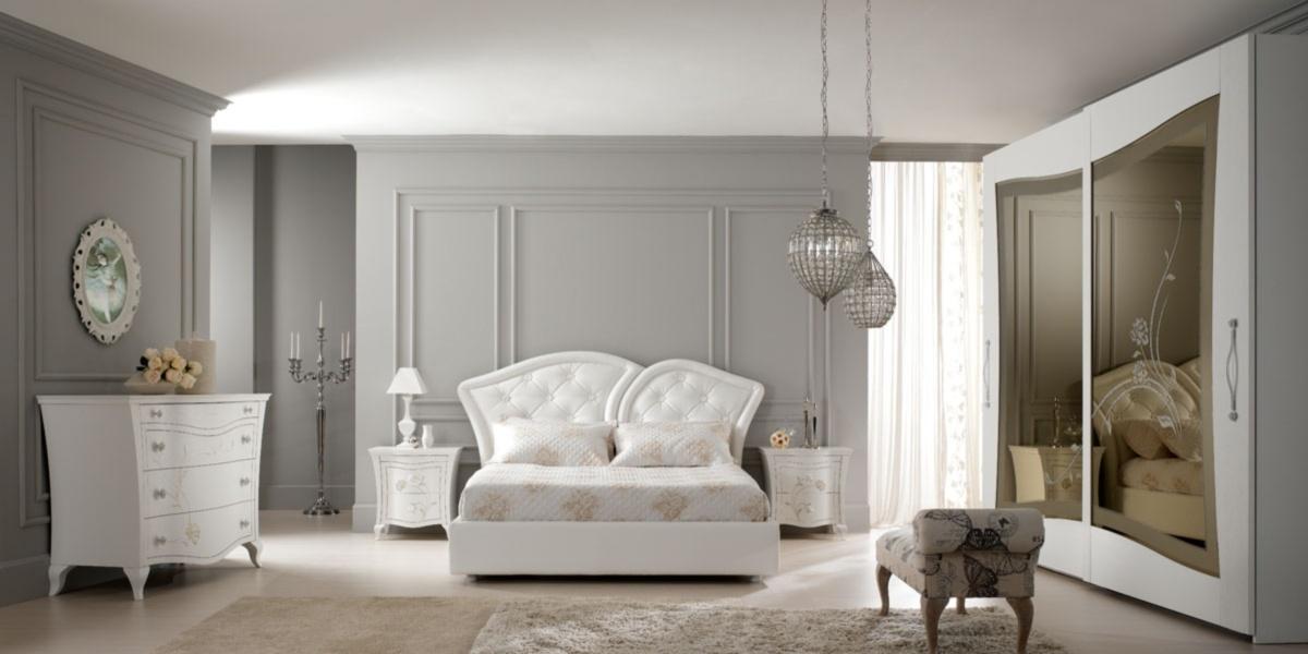 Franco marcone arredamenti casa italia - Camere da letto classiche bianche ...