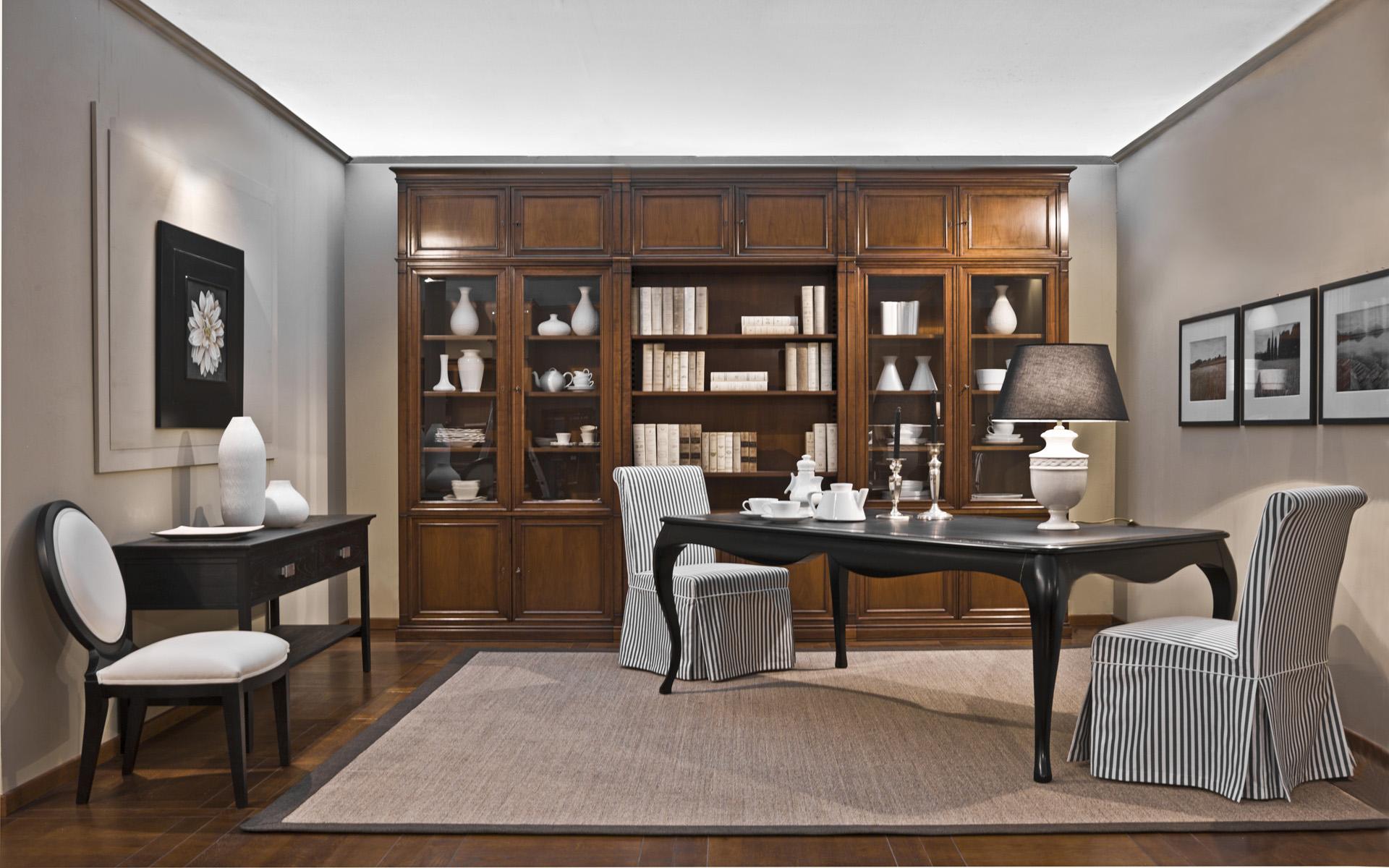 Meroni mobili ufficio mobili in legno massello moderni per ufficio ...