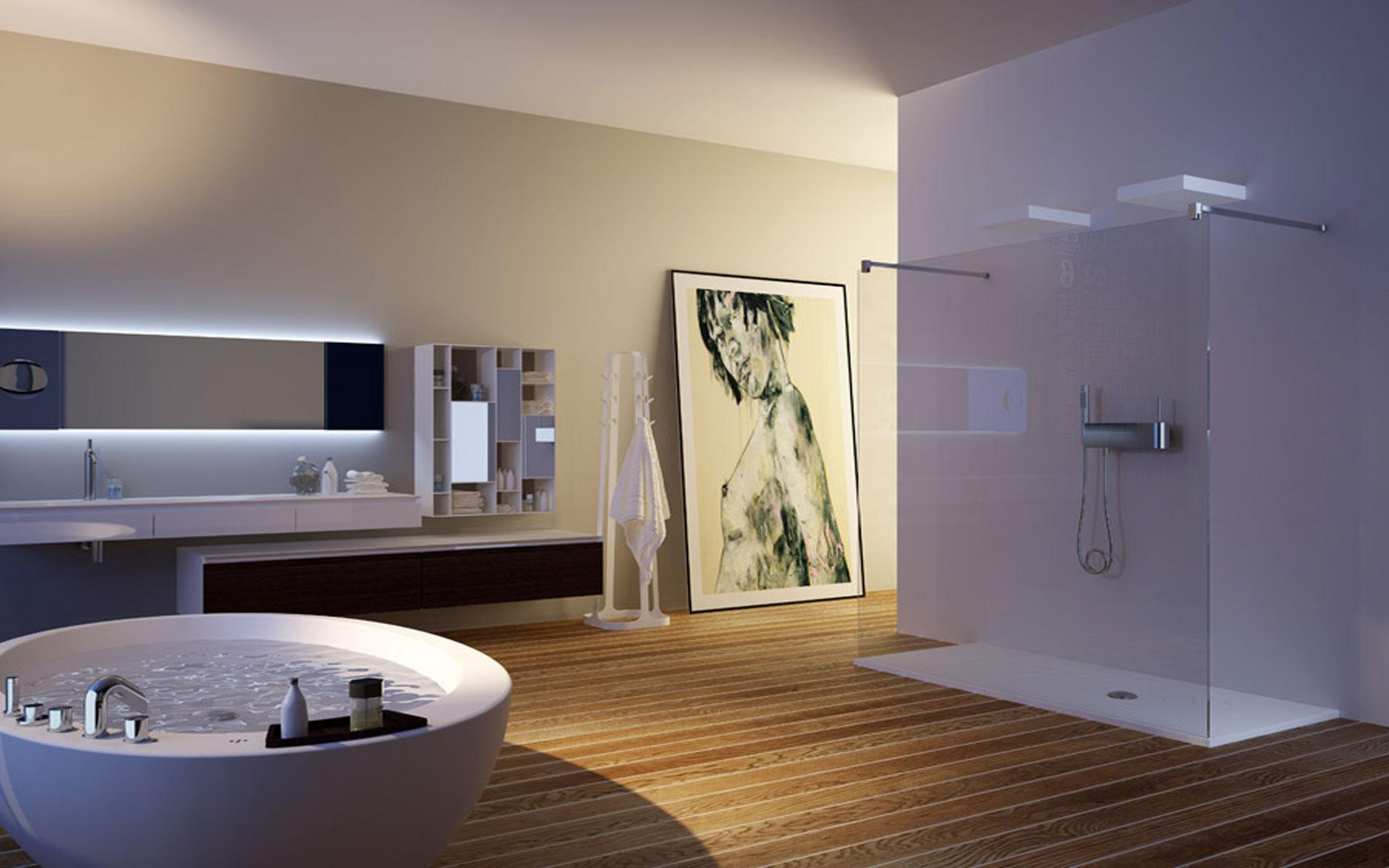 Vasca Da Bagno Di Design Moderno : Vasche da bagno colorate di design vasche bagno ceramica