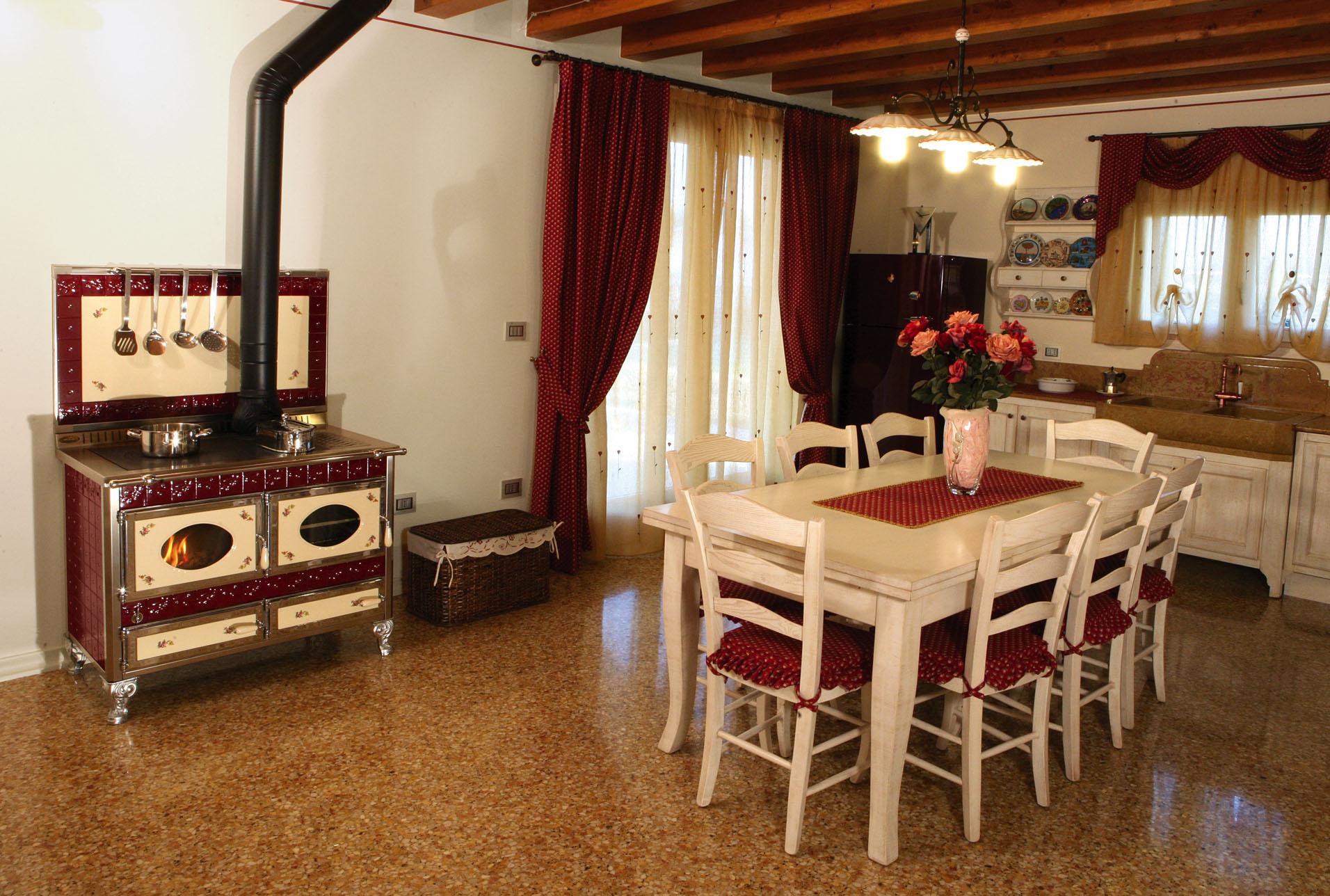Cucine Casa Italia #A83623 1912 1288 Come Arredare Cucina Soggiorno Rustica