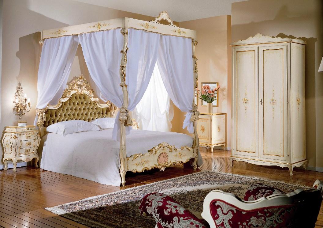 Letto matrimoniale barocco veneziano le migliori idee per la tua design per la casa - Camerette stile barocco ...