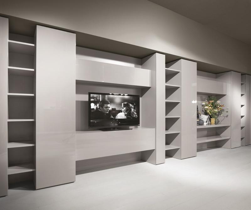 Mobili casa italia part 2 - Mobile libreria a parete ...