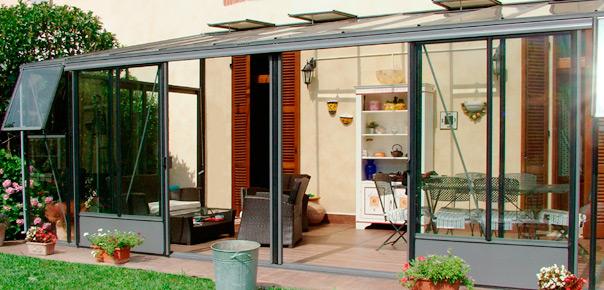 Euroserre italia srl casa italia for Giardini e verande
